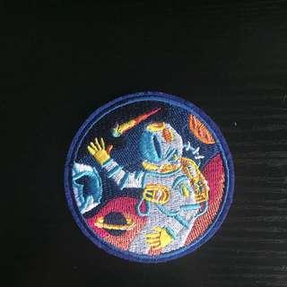 (INSTOCK)Astronaut Iron On Patch