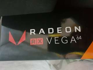 (Brand New & Sealed): AMD Vega 64 [Local Warranty]