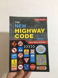 [SELLING 4 BOOKS] New Highway Code Book 1 & 2, BTT & FTT Q&A booklets