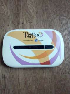Globe tattoo pocket wifi
