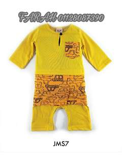Romper Kuning Baby