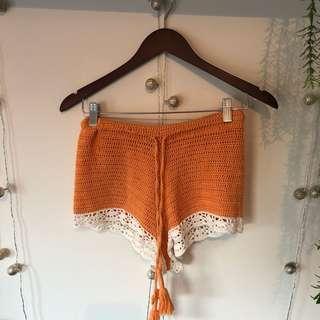 arnhem // crochet shorts