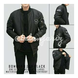 Jaket Bomber Waterproof Windproof