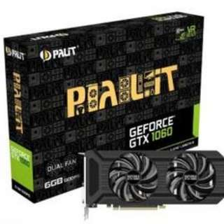 Palit GeForce GTX 1060 Dual 6GB GDDR5 PCI-E Graphics Card