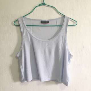 Topshop Sleeveless Crop Top