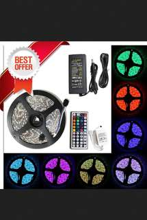 Promo!2@$46 Waterproof 5m multi colour led strip set