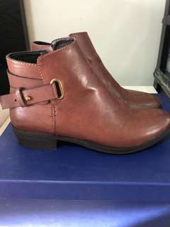 Marco Gianni Brown Ankle Boots
