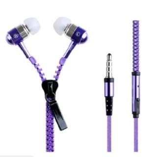 Headset Zipper / earphone zipper Headset resetling super bass - KHM241