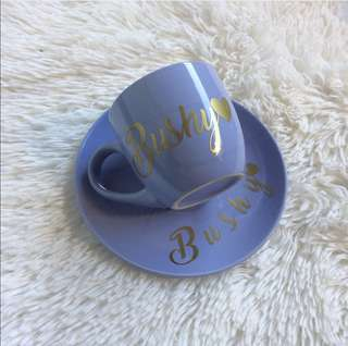Personalized Cup & Saucer