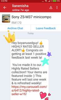 High Rated Seller..TQ.