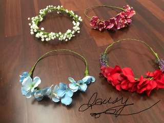 40 each Flower Crown for KIDS