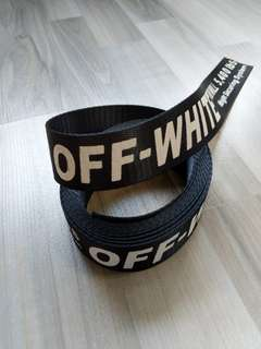Off-White Belt Strap Black