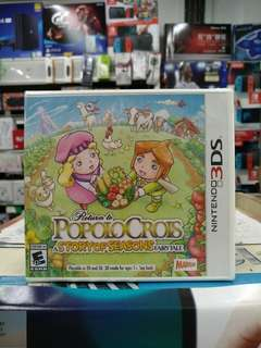 🆕 3DS Return to Popolocrois A Story Of Seasons Fairytale