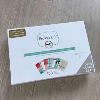PROJECT LIFE - Mini Kit - Shimelle