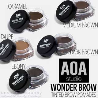 🆕 Tinted Brow Pomades. Wonder Brow US AOA Studio Cruelty-free Cosmetic Makeup INSTOCK