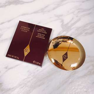 $368 CHARLOTTE TILBURY AIRBRUSH FLAWLESS FINISH POWDER 無瑕輕盈粉餅 8g