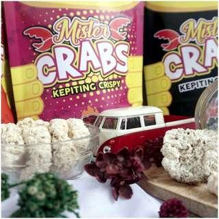 Snack Kepiting Mister Crabs