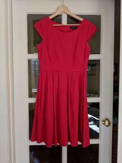Pink Dress - Size 12 AUD
