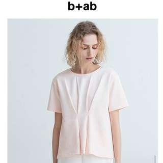 b+ab🐧T恤時尚短袖夏季個性大方氣質