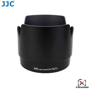 JJC LH-74(T) Black Lens Hood for Canon EF 70-200mm f/4L IS USM Camera Lens ( ET-74 )