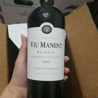 Red Wine紅酒Viu Manent Reserva Cabernet Sauvignon 2016