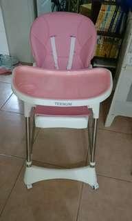 🚚 (已售出)幼兒餐椅可躺可坐可睡