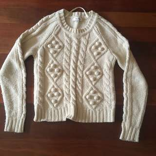 Miss Shop cream jumper