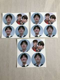 SUHO STICKERS (limited!!)