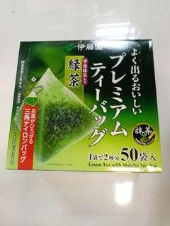 全新伊藤園 三角 綠茶 50包