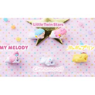[PO] CABLE BITE Sanrio (For iPhone) Little Twin Stars My Melody Pompompurin Cinnamoroll