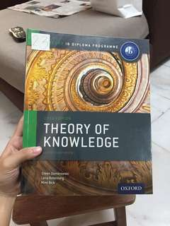 IB Theory of Knowledge Oxford
