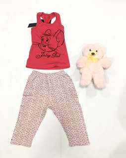 Top and leggings Set