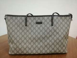 Gucci Zip on Top Bag with Sling