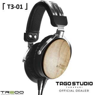 TAGO STUDIO T3-01 Over-the-Ear Wooden Cup Headphone