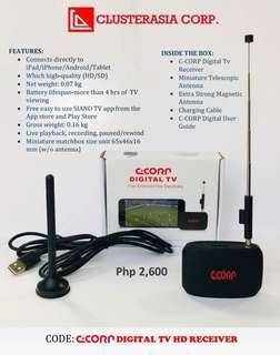 C-CORP DIGITAL TV HD RECEIVER
