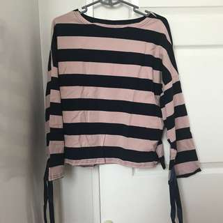 Striped Long Sleeve Top BNWT