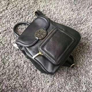 Tory Burch Amanda Series Backpack Black V1