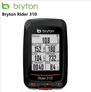Value-for-$ Bryton 310 GPS Cycling Computer