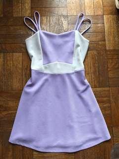 Liliac Panel Dress