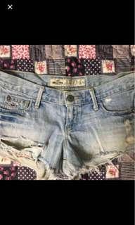 🚚 Hollister 牛仔短褲