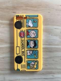 Iphone7p/8plus 黃色卡通軟手機殼 case