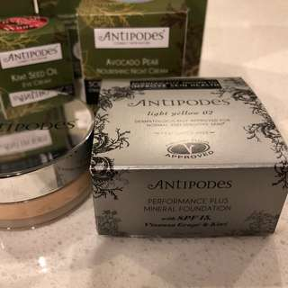 ANTIPODES Mineral Foundation SPF15 天然礦物防曬蜜粉粉底 SPF15