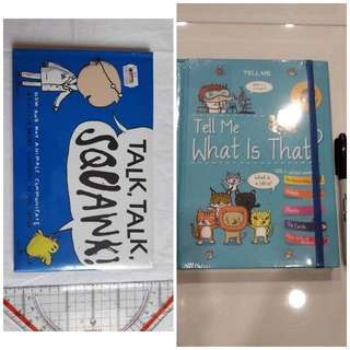 Buku BBW JKT 2018 Bundling Tell me what is that - talk talk squawk
