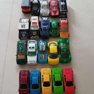 火柴盒小汽車/ 風火輪 /一堆不知名小汽車玩具