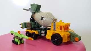 變形金剛Transformer 泥頭車