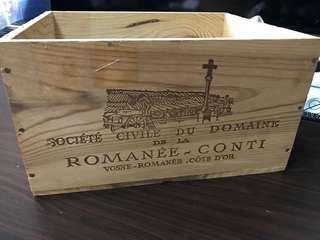 頂級 紅酒木箱 Romanee conti