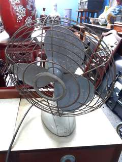 1950s table fan.