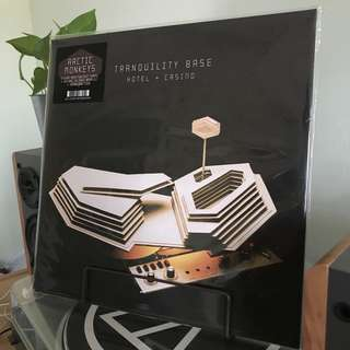Arctic Monkeys - Tranquility Base Hotel + Casino SILVER LP