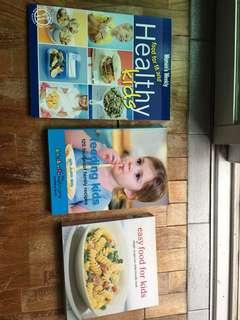 Kids recipe books etc