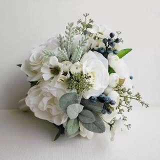 新娘花球 絲花